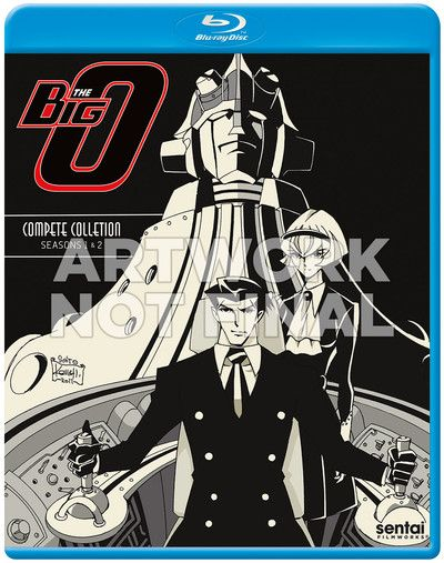 Crunchyroll The Big O Complete Collection Blu Ray Blu Ray