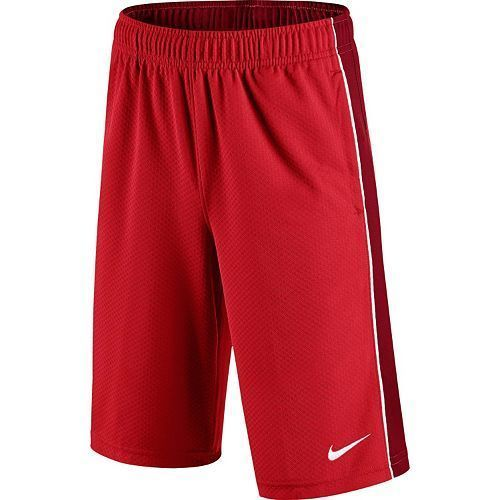 NWT Boys NIKE Training Aceler8 Mesh Active Athletic Sport Shorts Red L XL 724420 #Nike #Everyday
