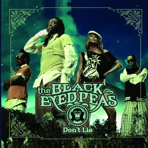 The Black Eyed Peas – Don't Lie (single cover art)
