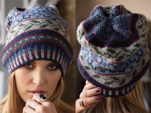 Modne i stylowe kapelusze, jesień-zima 2014-2015 - najbardziej aktualne wzory dziewiarskie
