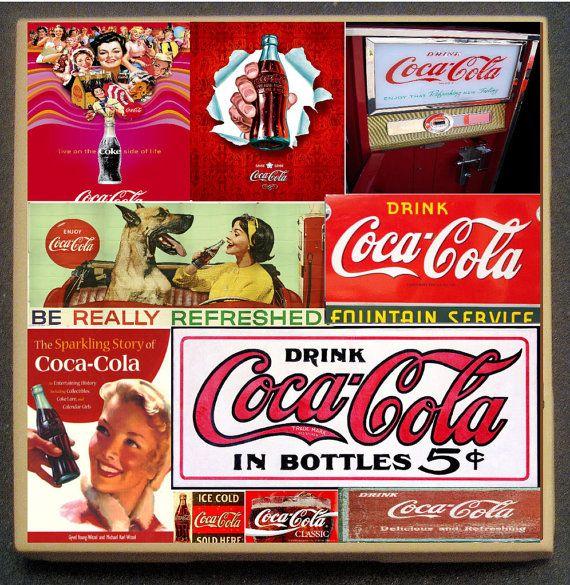 Chile Coca Cola Coke Soda Metal Coasters Girl