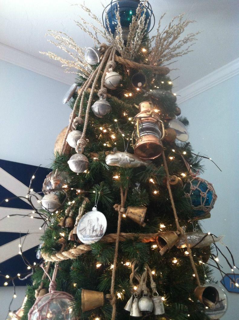Coastal Home How To Guide Coastal Christmas Tree Decoration Nautical Christmas Coastal Christmas Decor Coastal Christmas