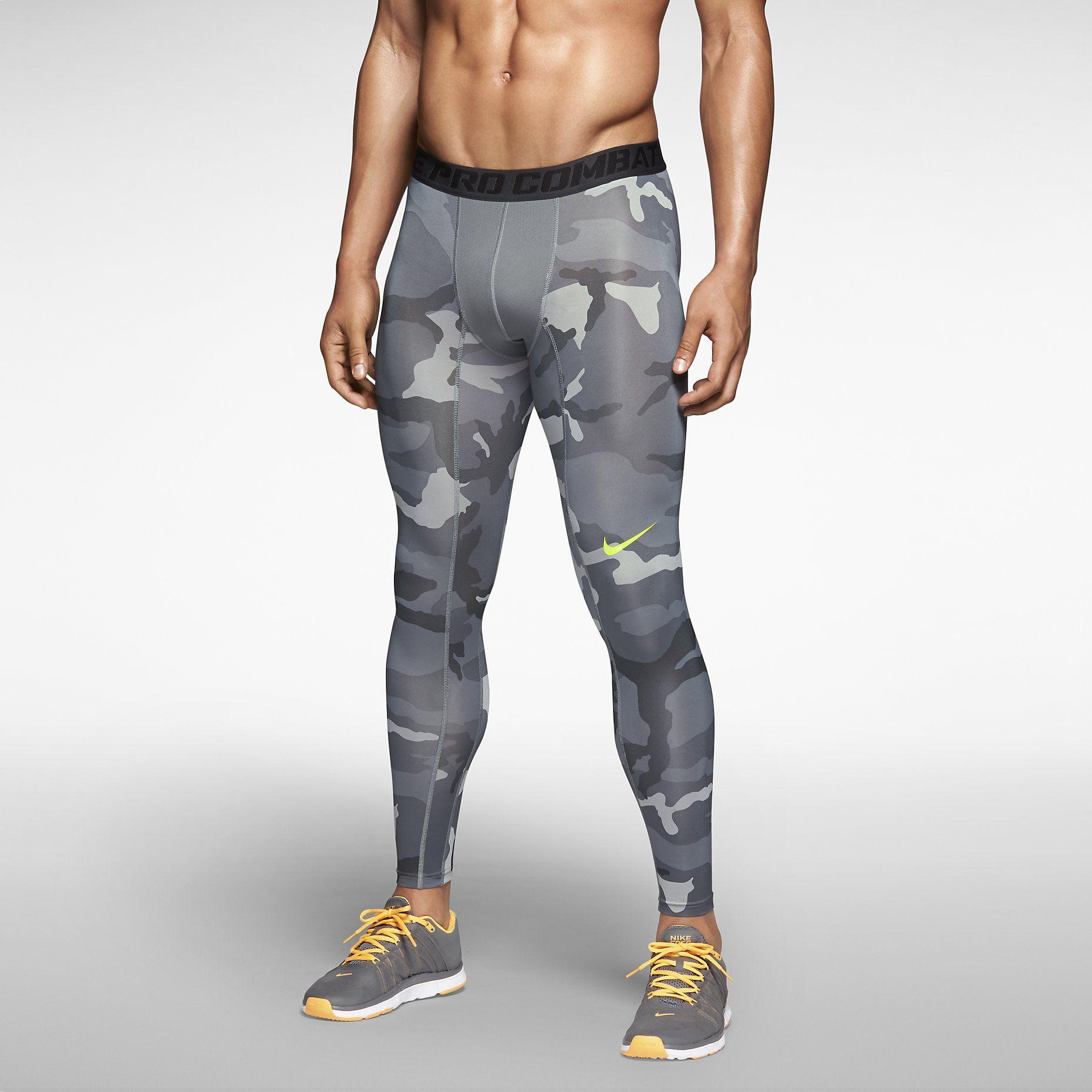 500f3418435 Nike Pro Combat Core Compression Camo Men s Tights. Nike Store ...