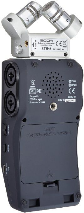 Amazon.com: Zoom H6 Six-Track Portable Recorder: Musical Instruments