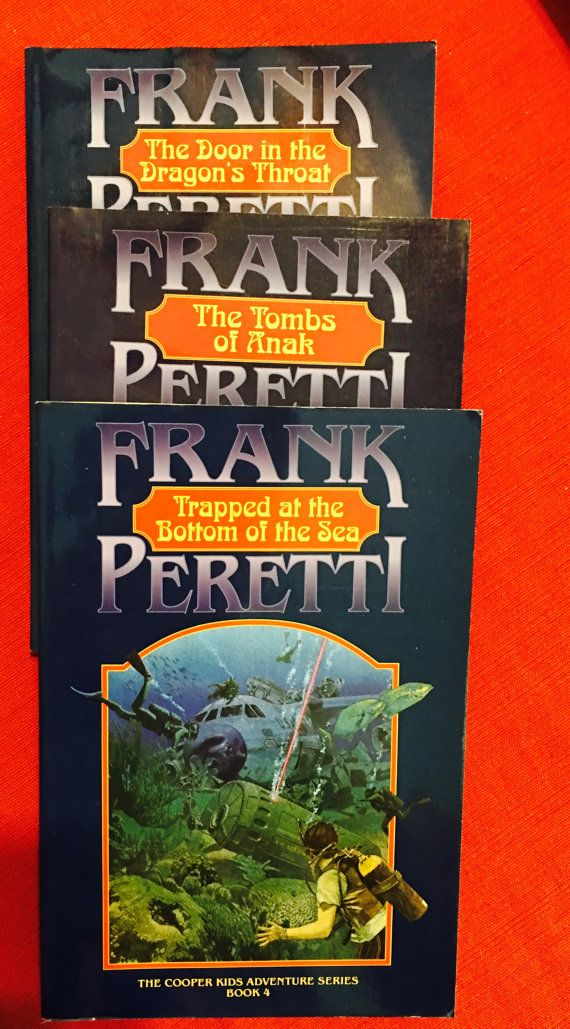 Was frank peretti and teen novels think, that you