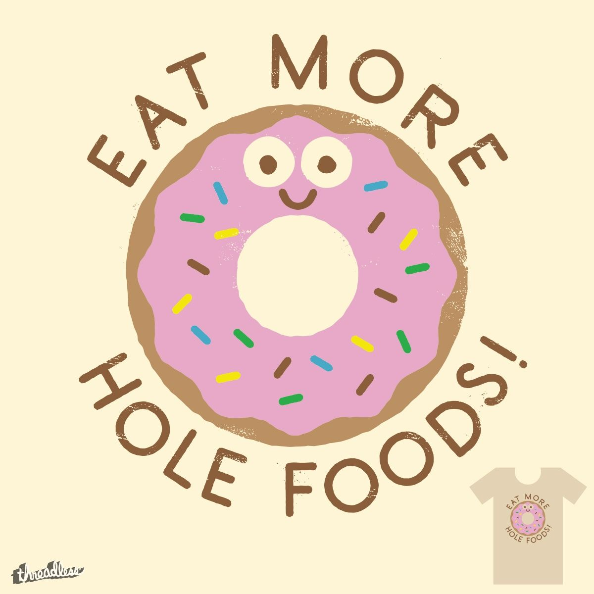 Do S And Donuts On Threadless Donut Art Donut Art Print Donut Quotes