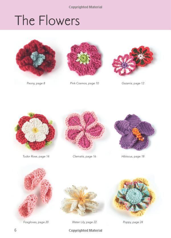Crocheted Flowers (Twenty to Make): Amazon.co.uk: Jan Ollis: Books ...
