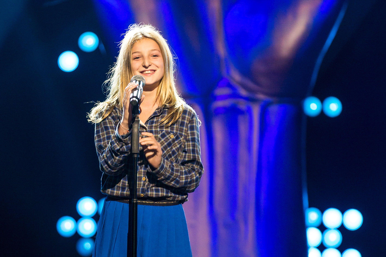 Ella 9 crimes blind audition the voice kids vtm