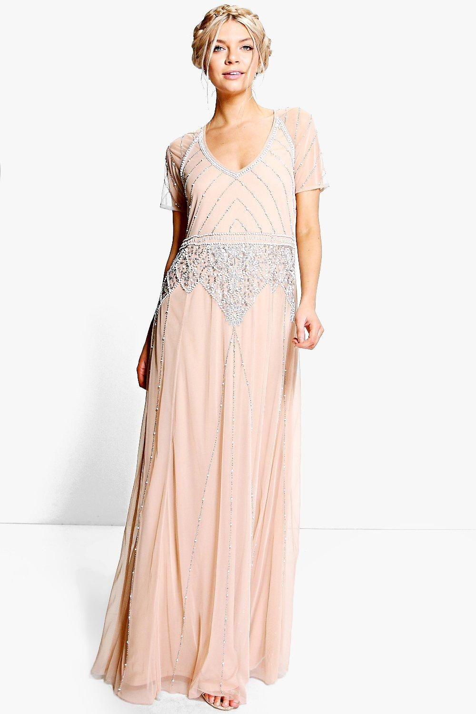 1930s Evening Dress, Art Deco Gown, Party Dress Maxi
