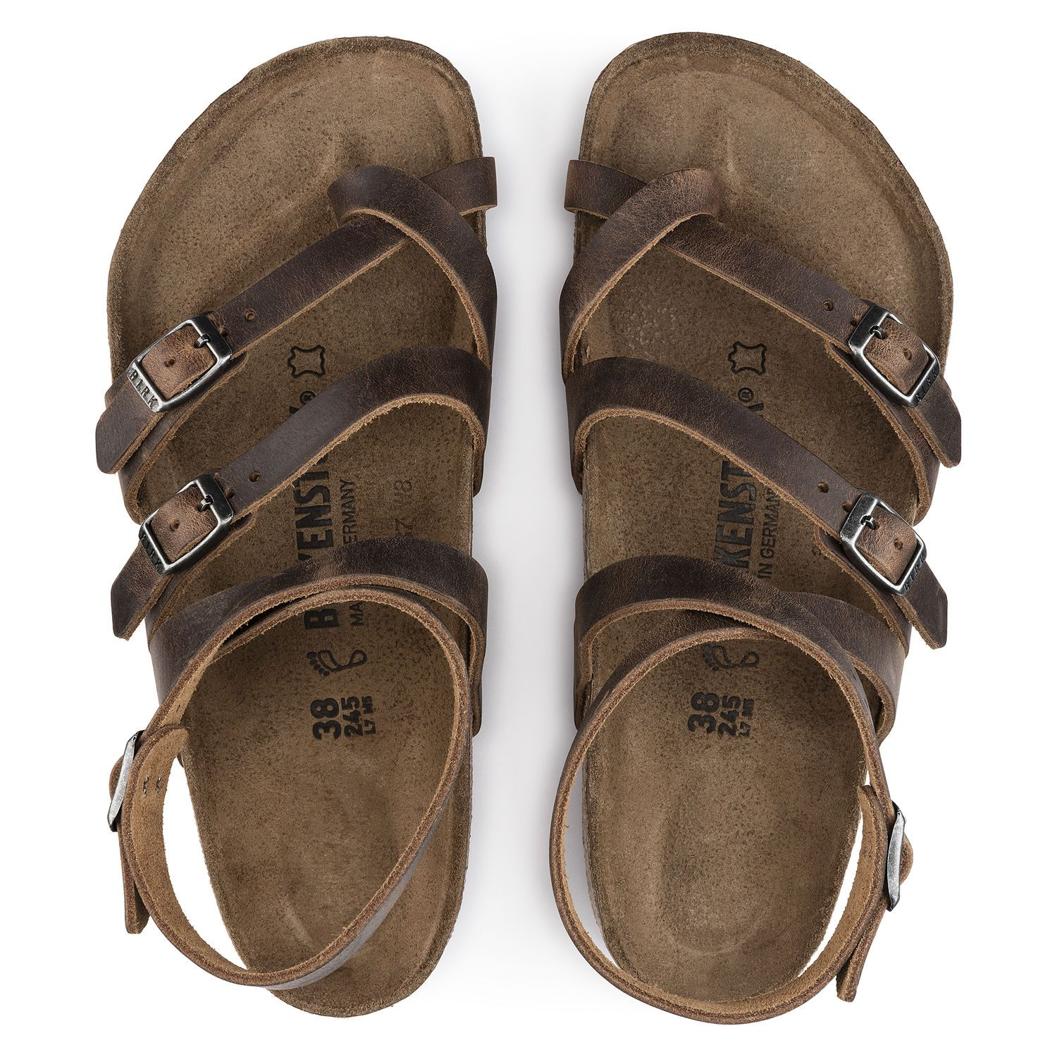 Seres Natural Leather Camberra Old Tobacco   BIRKENSTOCK