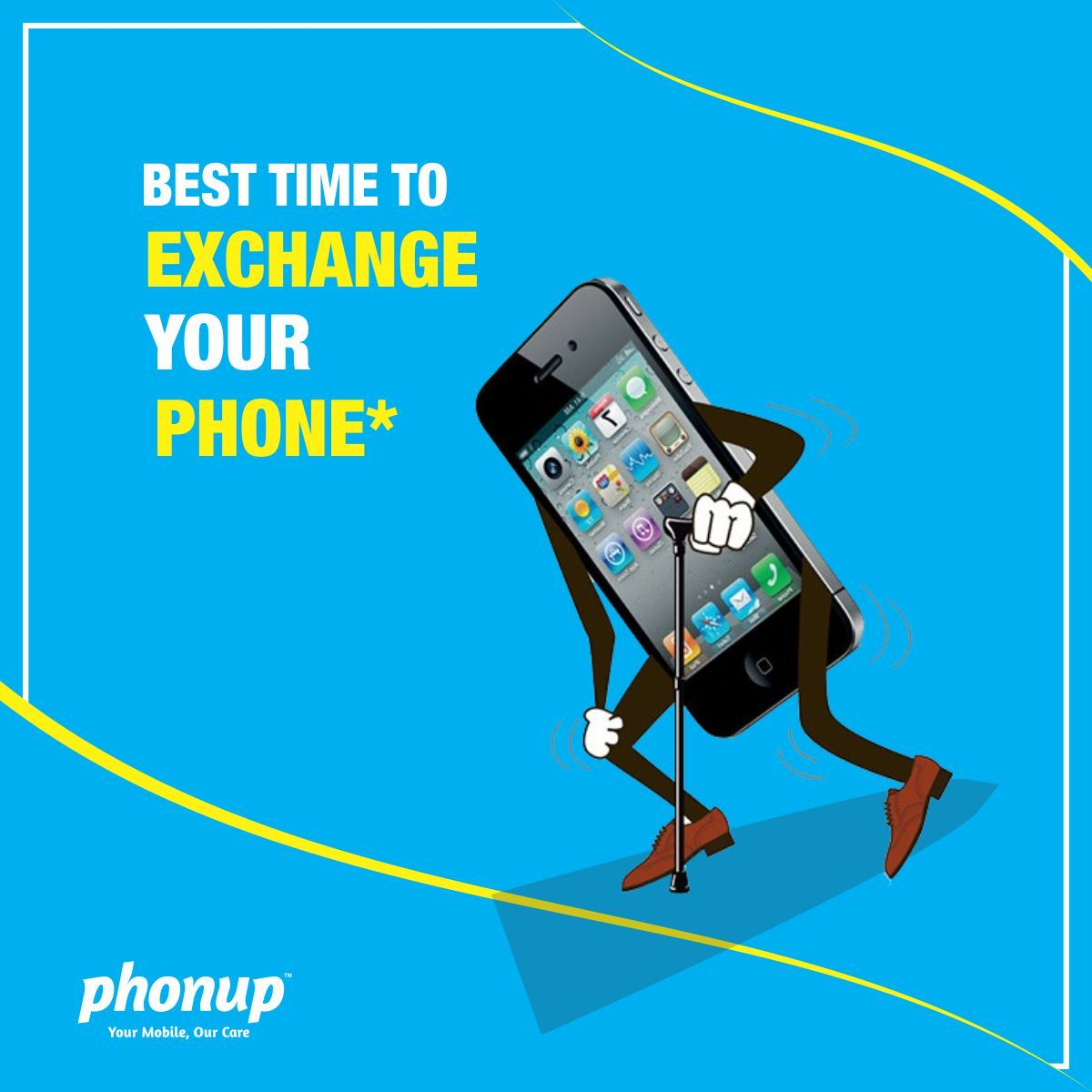 Exchange your old phone with a better model  #selloldmobile