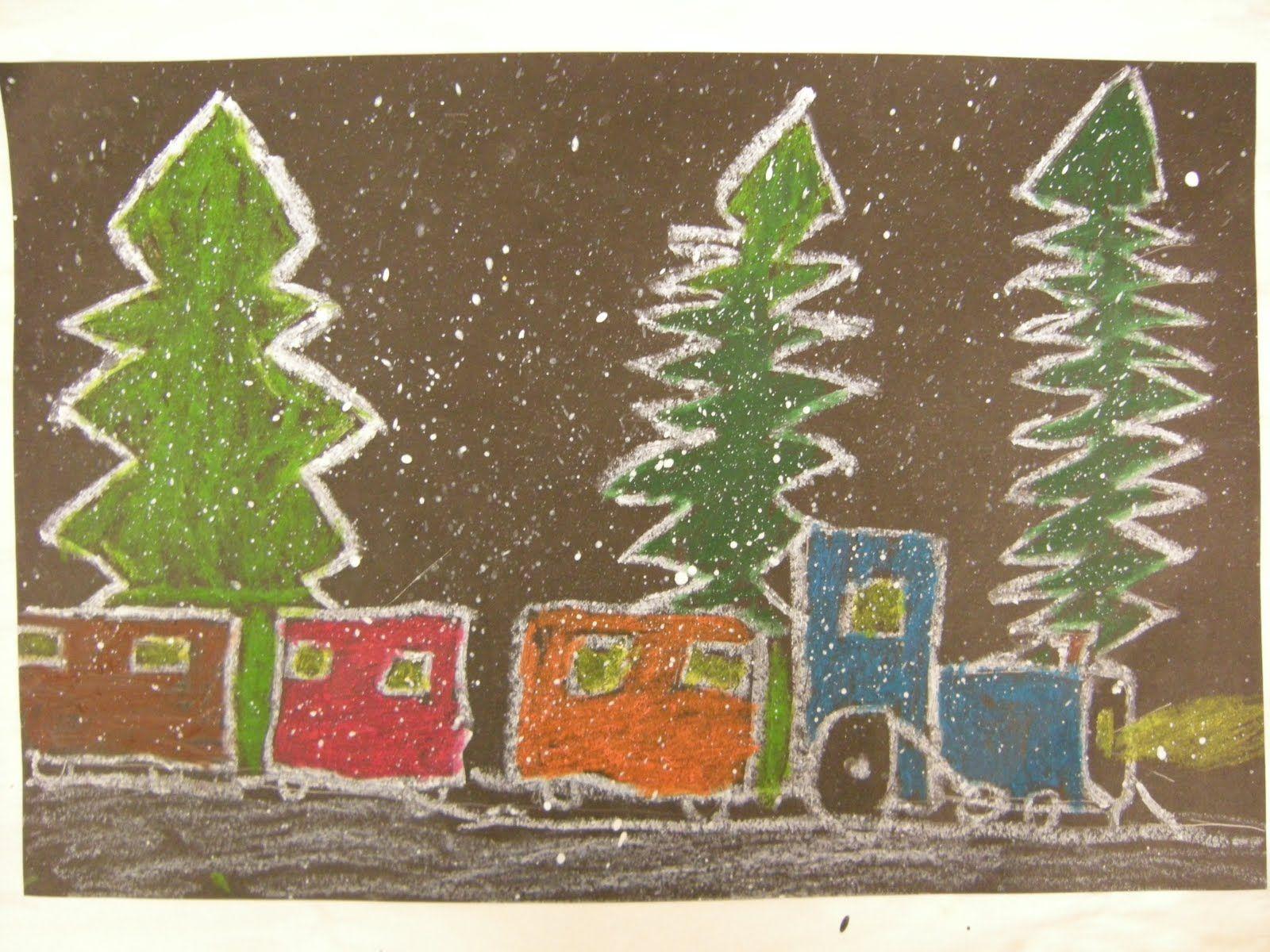 The Polar Express Draw Polar Express Trains Using Oil