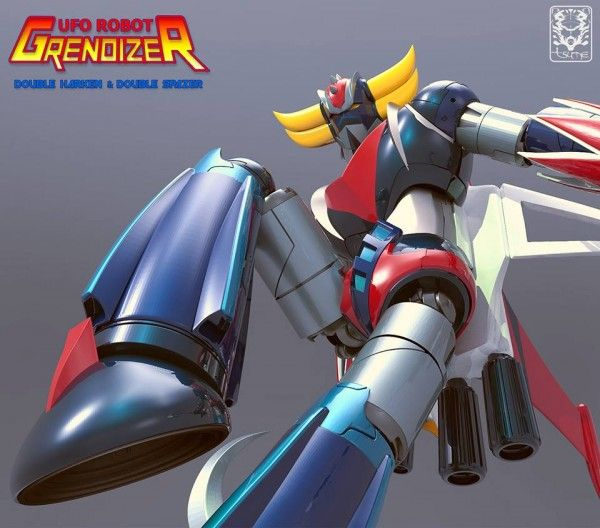 Kaiyodo Legacy of REVOLTECH LR-056 UFO Robot GRENDIZER GOLDRAKE
