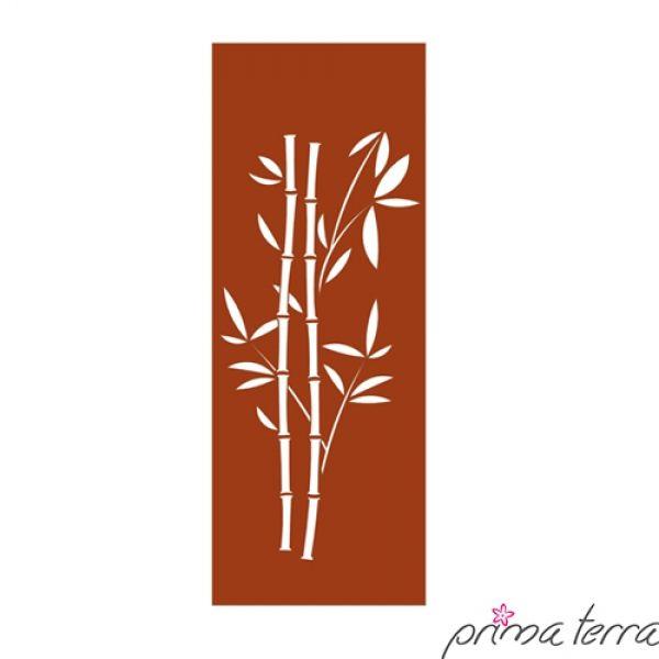 Edelrost Sichtschutzwand Bambus Prima Terra Mit unserer