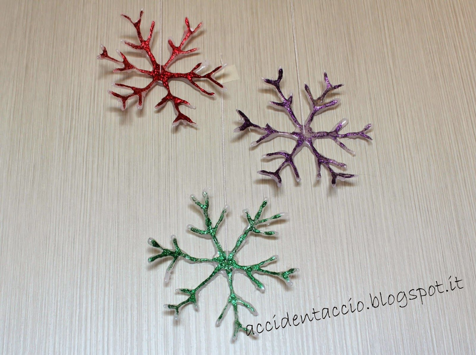 Accidentaccio: Christmas Inspirations Blog Hop #4 - Fiocchi di Neve DIY - part 1