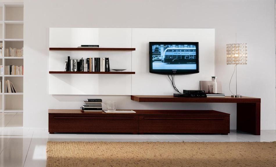 Modular Lcd Rack Panel Tv Moderno Living Lecharp S.r.l L511 ...