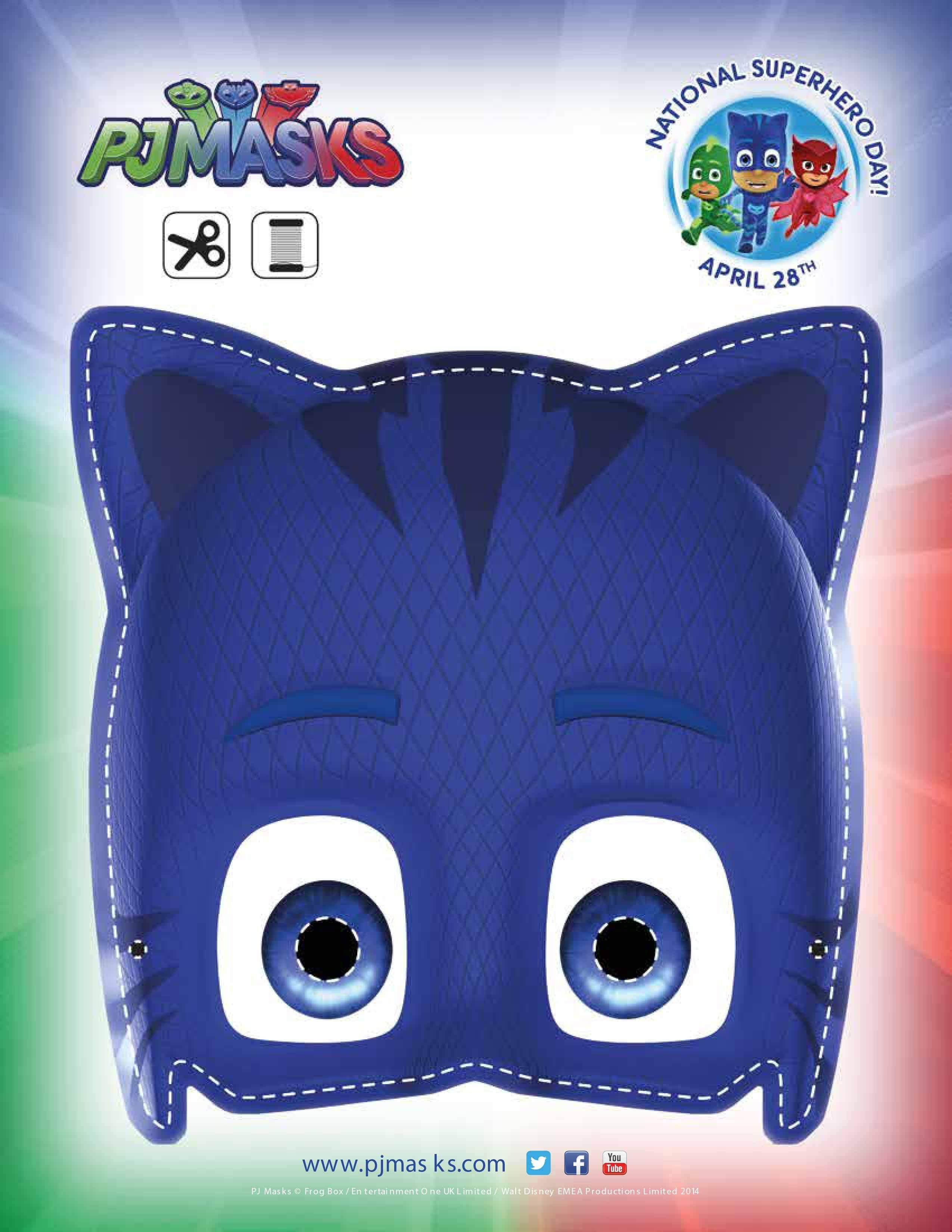 PJ Masks Party Printables for FREE | PJ Masks theme party ...