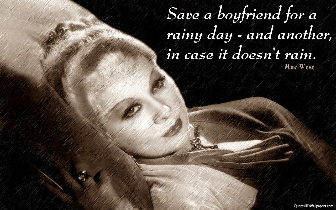 Mae West Quotes | Get Amazing And Best Mae West U2013 Dating Quotes HD  Wallpapers For