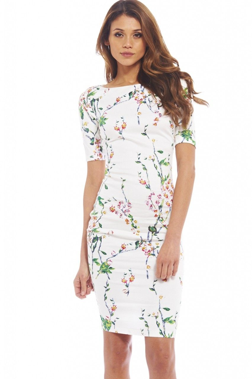 d7428d89043 EVENTUALLY EVERYTHING BLOSSOMS MIDI DRESS