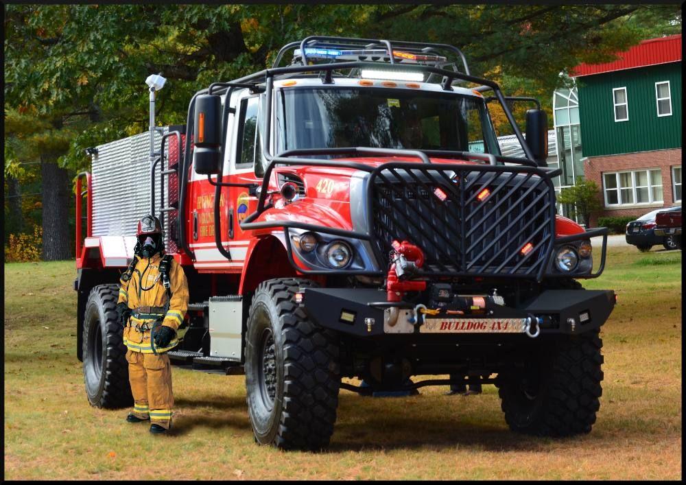 Fire Truck Brush Truck 4x4 For Sale Price Cost 4x4 Pumper Mini