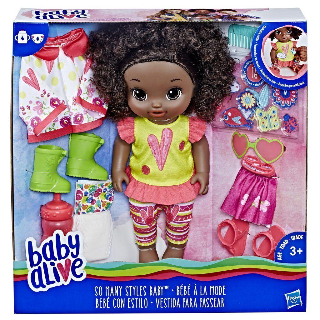Baby Alive Rain Or Shine So Many Styles Doll Baby Alive Baby Alive Dolls Interactive Baby Dolls