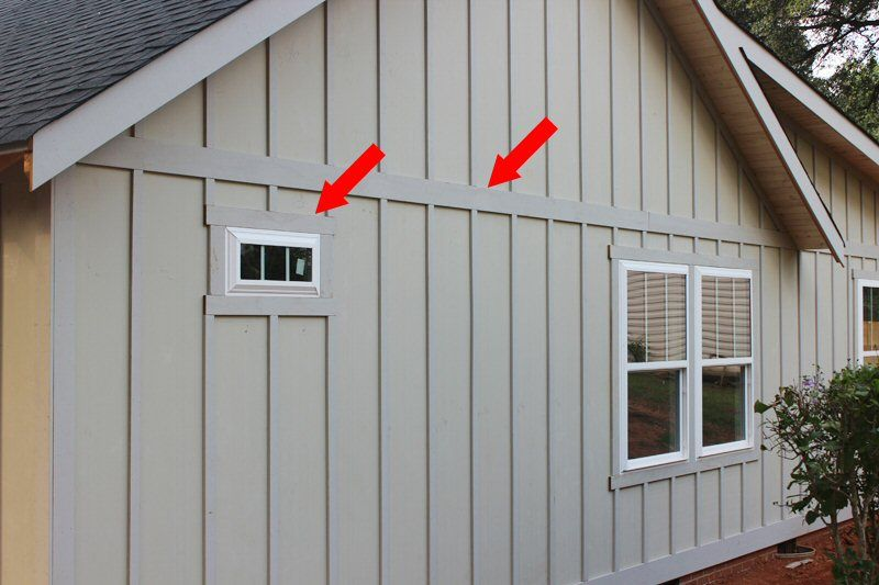Board And Batten Window Detail Roofing Siding Diy Home Improvement Board And Batten Exterior Cottage Exterior House Siding
