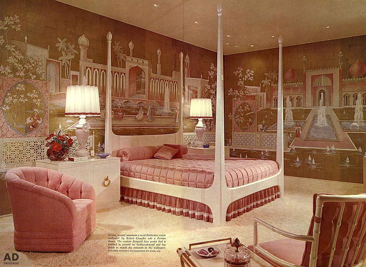 1960 S Bedroom Bedroom Vintage Retro Bedrooms Retro Home Decor