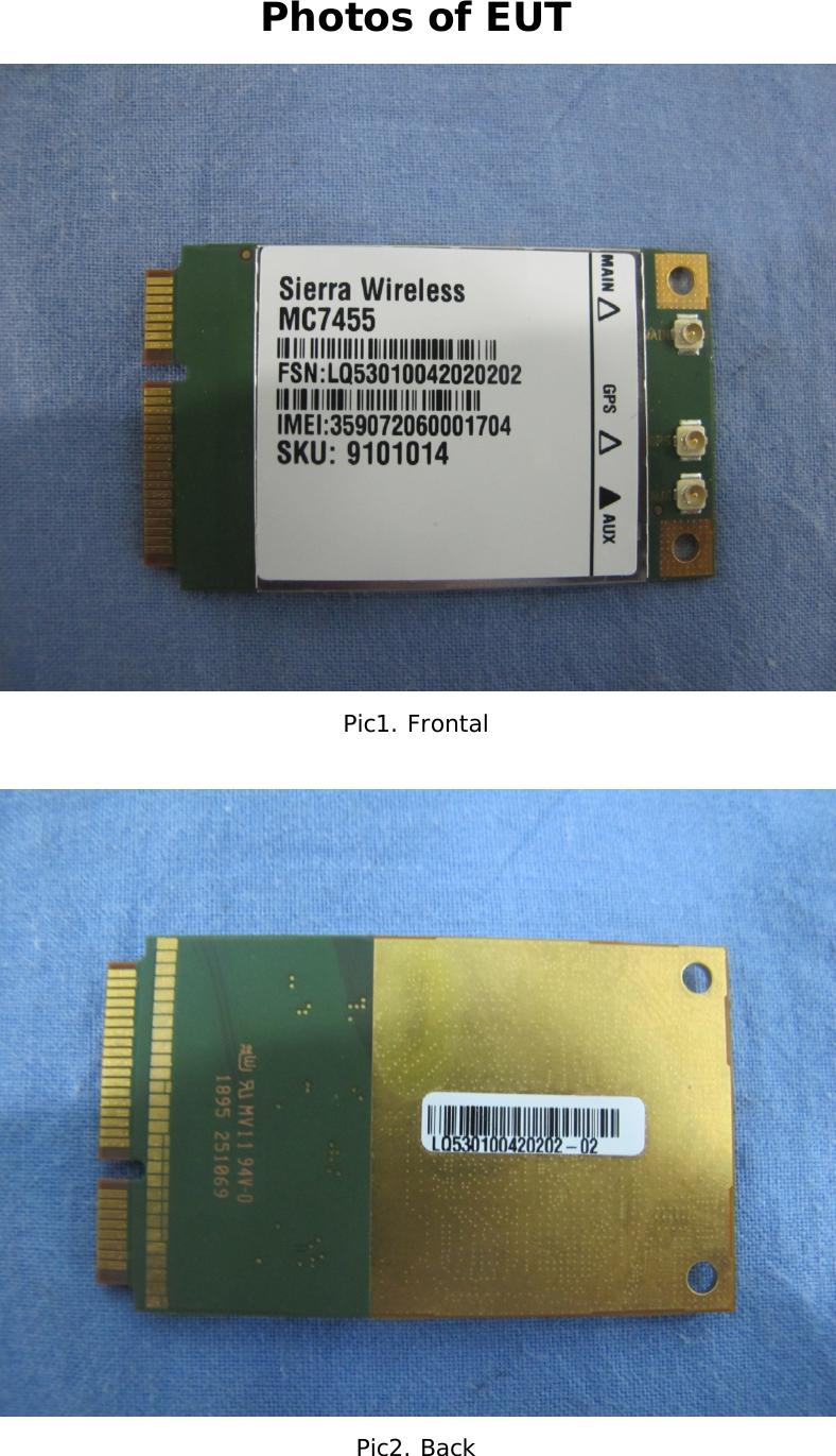 SWIR Sierra Wireless Inc  Radio Module MC7455 (N7NMC7455