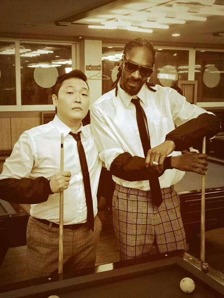 Psy and snoop dog. Aw yeah.