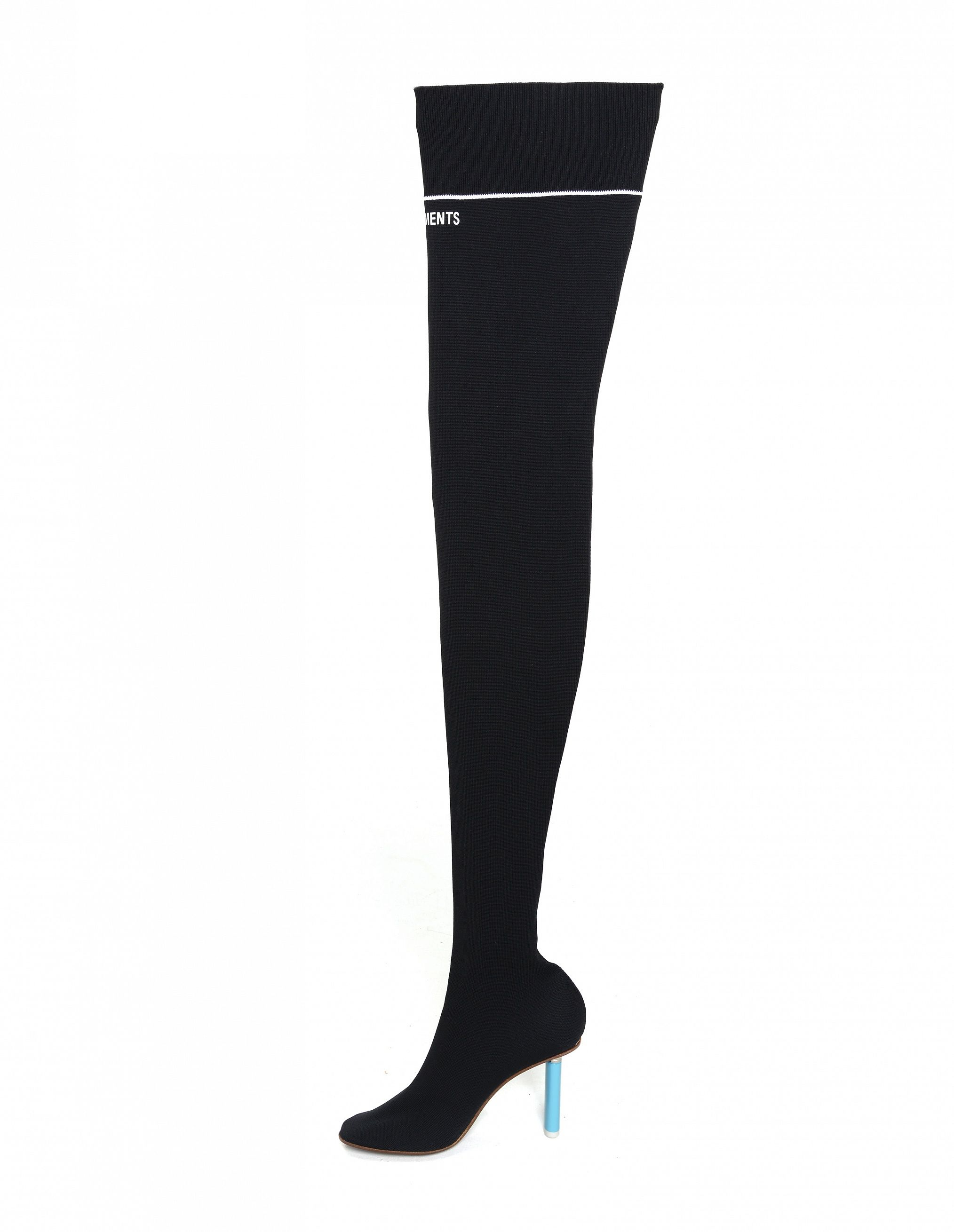 8c6ce1af2e1 Photo - Textile knee boots by Vetements High Heel Boots
