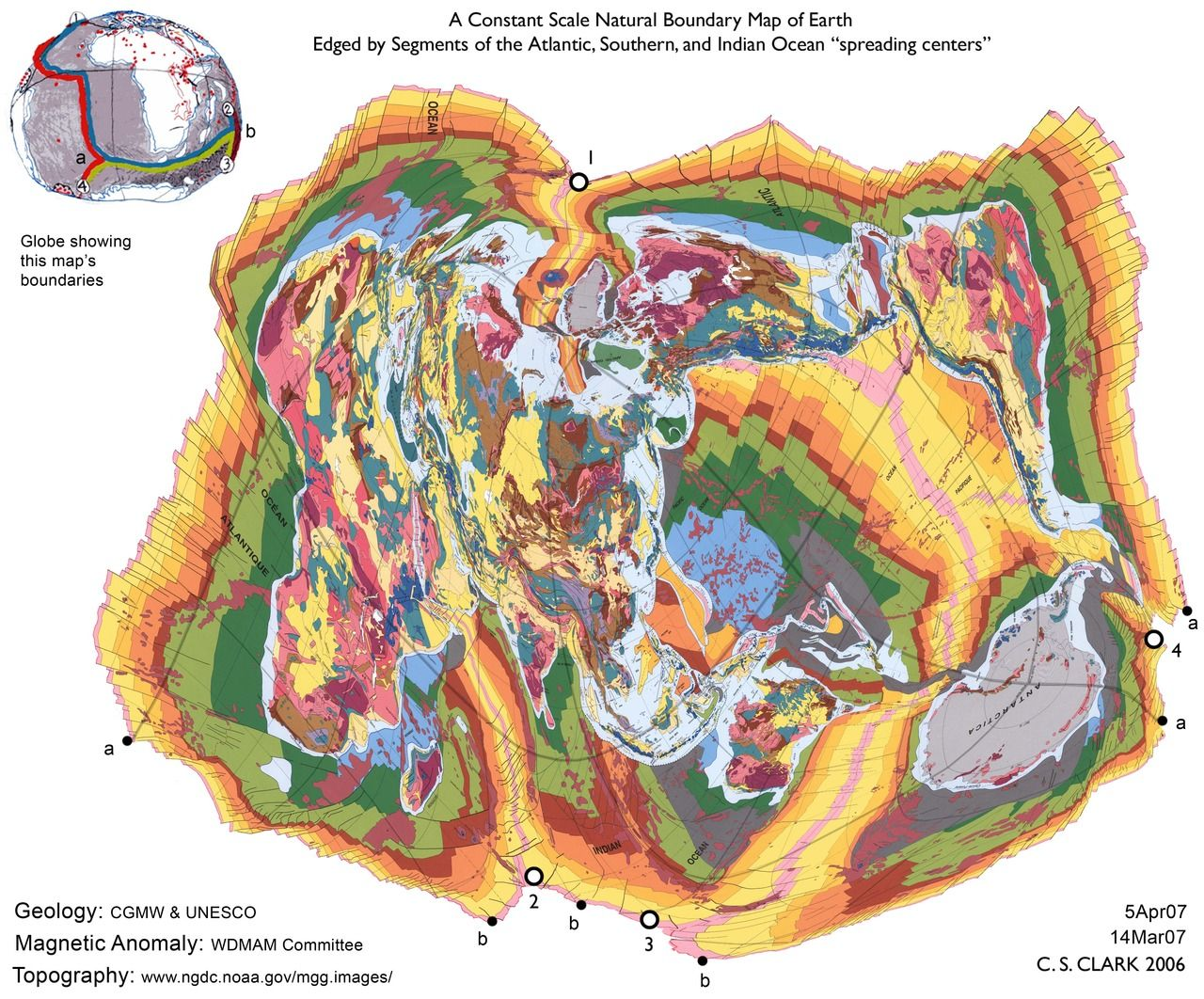 constant scale map