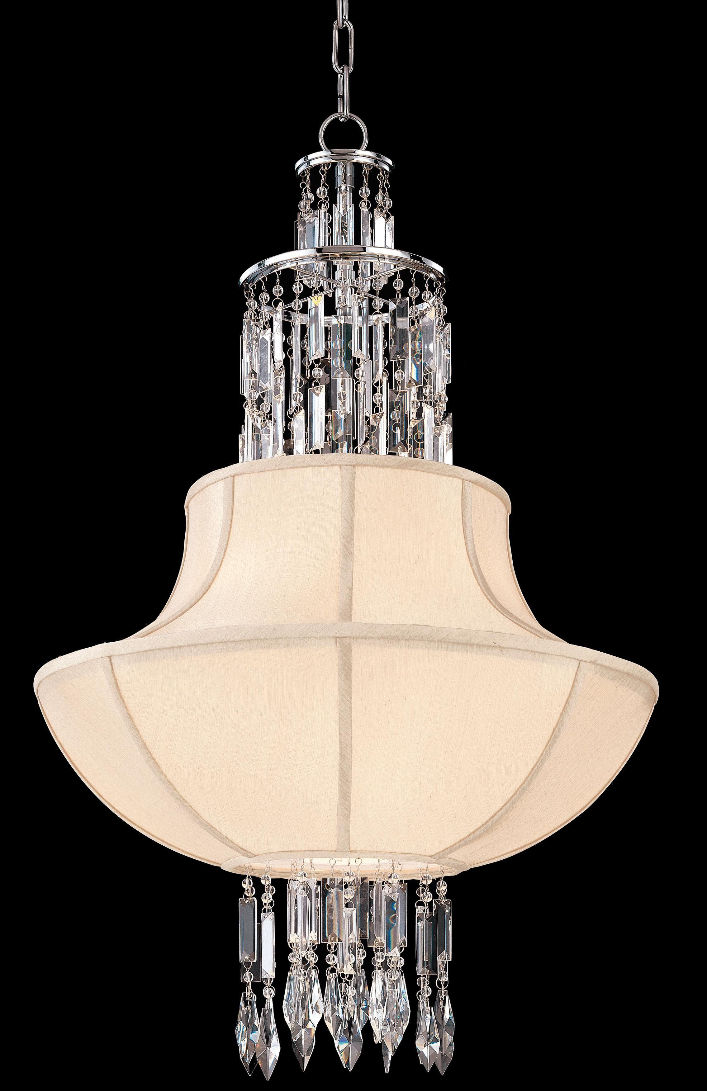 Cascade collection 24 wide chandelier lampsplus com