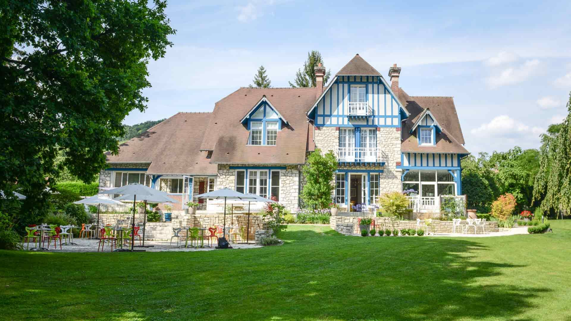 Le Jardin Des Plumes A Giverny Sejour Dans Une Villa Anglo