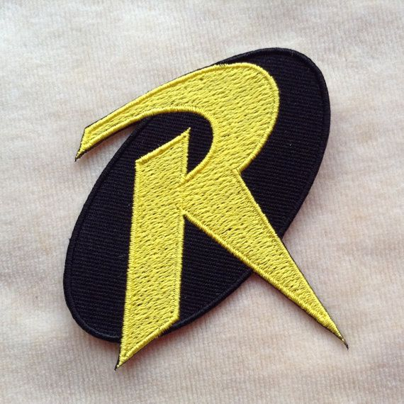 Superhero Batman And Robin Iron On Patch