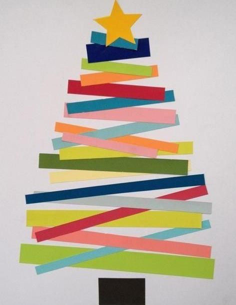 Image Result For Eyfs Christmas Card Ideas Christmas Tree Crafts