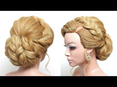 Wedding Updo Bridal Hairstyle For Long Hair Tutorial Step By Step Youtube Long Hair Tutorial Hair Tutorial Long Hair Styles