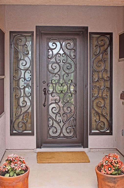 Vistancia Full First Impression Security Doors Iron Door Design Iron Entry Doors Entry Door Designs
