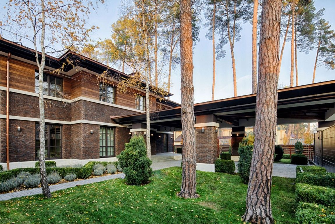 A F.L. Wright-Inspired Contemporary Home | Pinterest