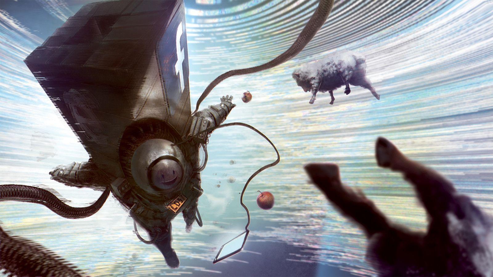 Carousel of life , Malaria/Michał Danielewicz on ArtStation at https://www.artstation.com/artwork/gLBdx
