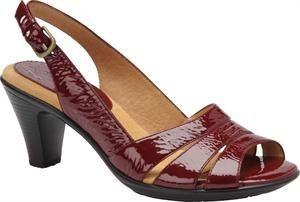 Amazon.com: Softspots Neima Wide Open Toe Slingback Sandals Shoes Green Womens New/Display: Shoes