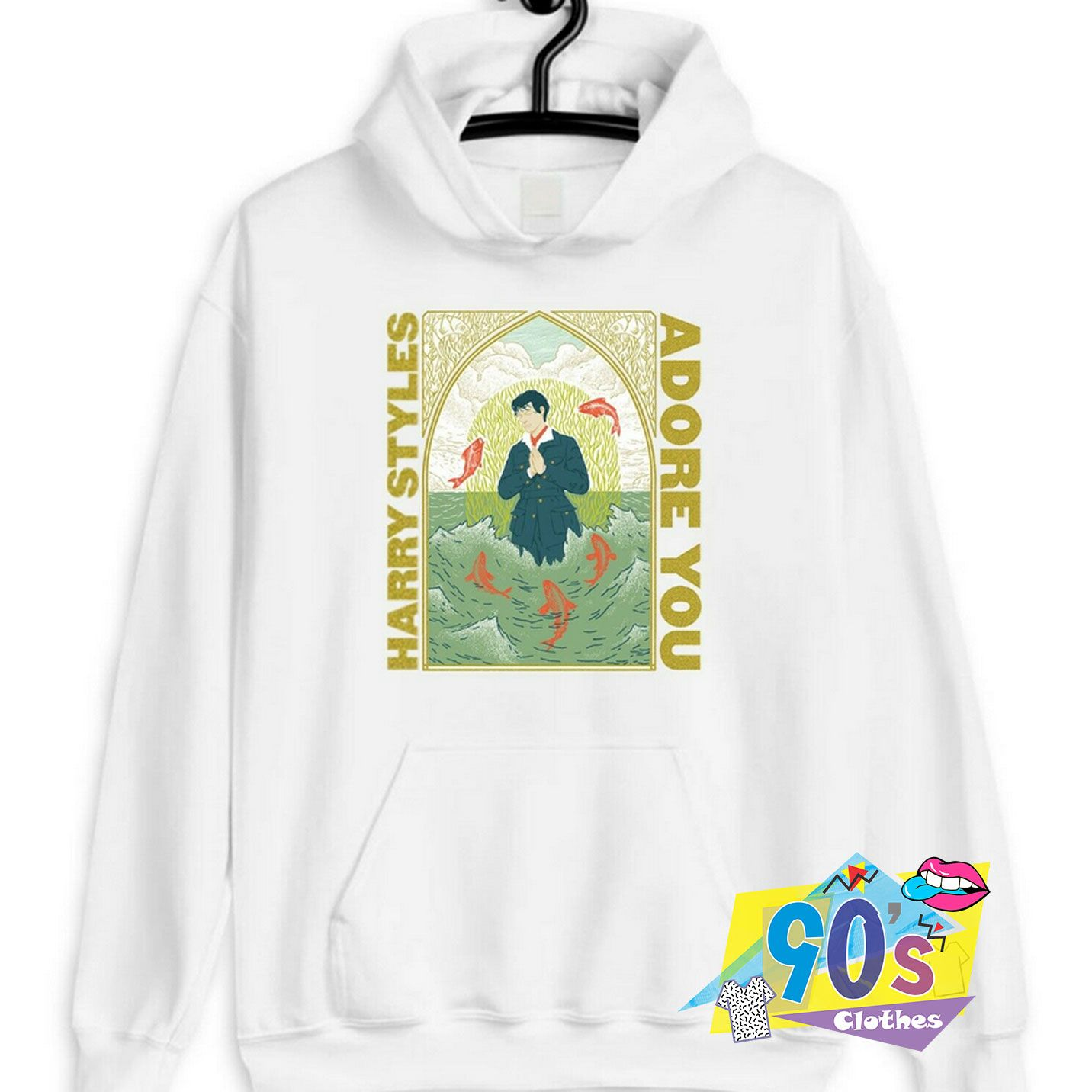 Harry Styles Adore You Hoodie 90sclothes Com In 2020 Harry Styles T Shirt Harry Styles Sweatshirt Harry Styles Shirt
