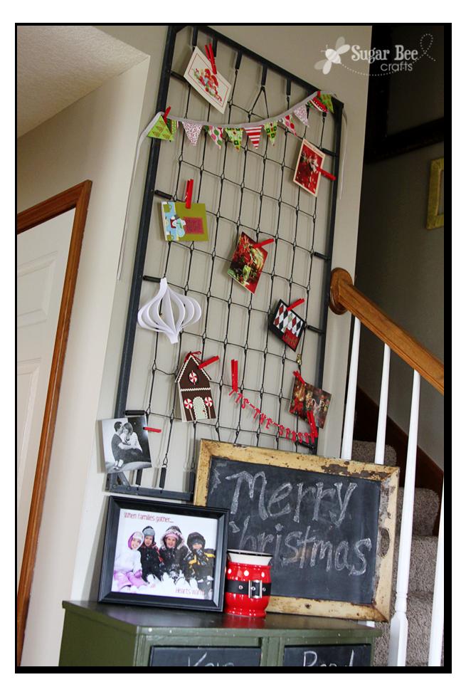 Holiday Card Holder Christmas Pinterest Christmas Holiday And