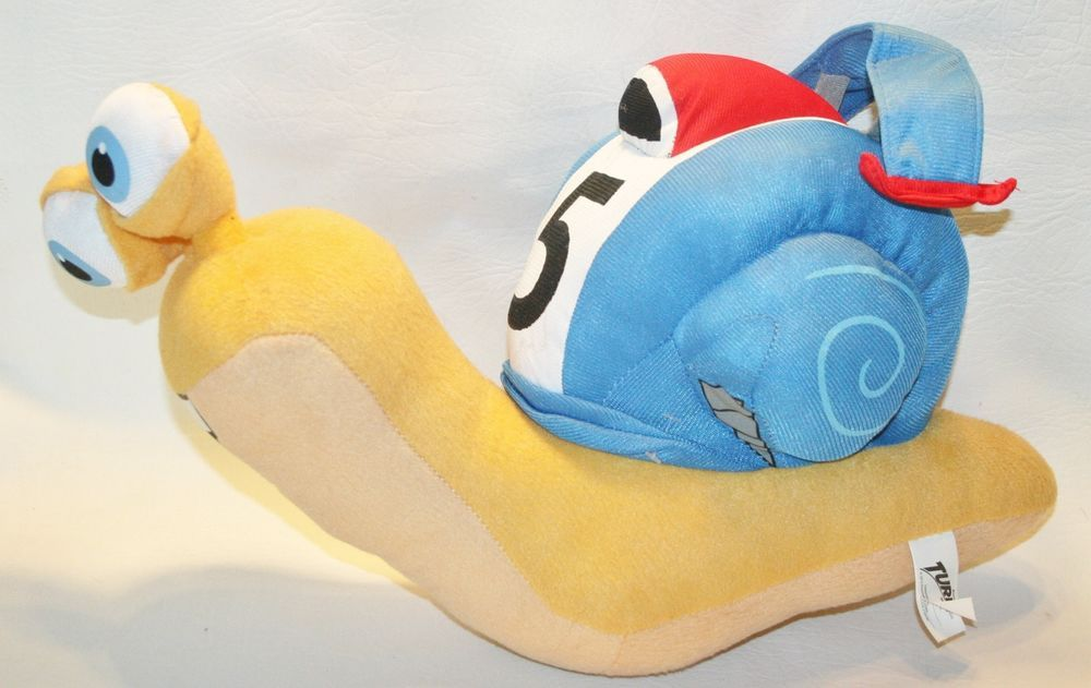 "Dreamworks TURBO THE SNAIL 17"" Plush STUFFED ANIMAL Toy ..."