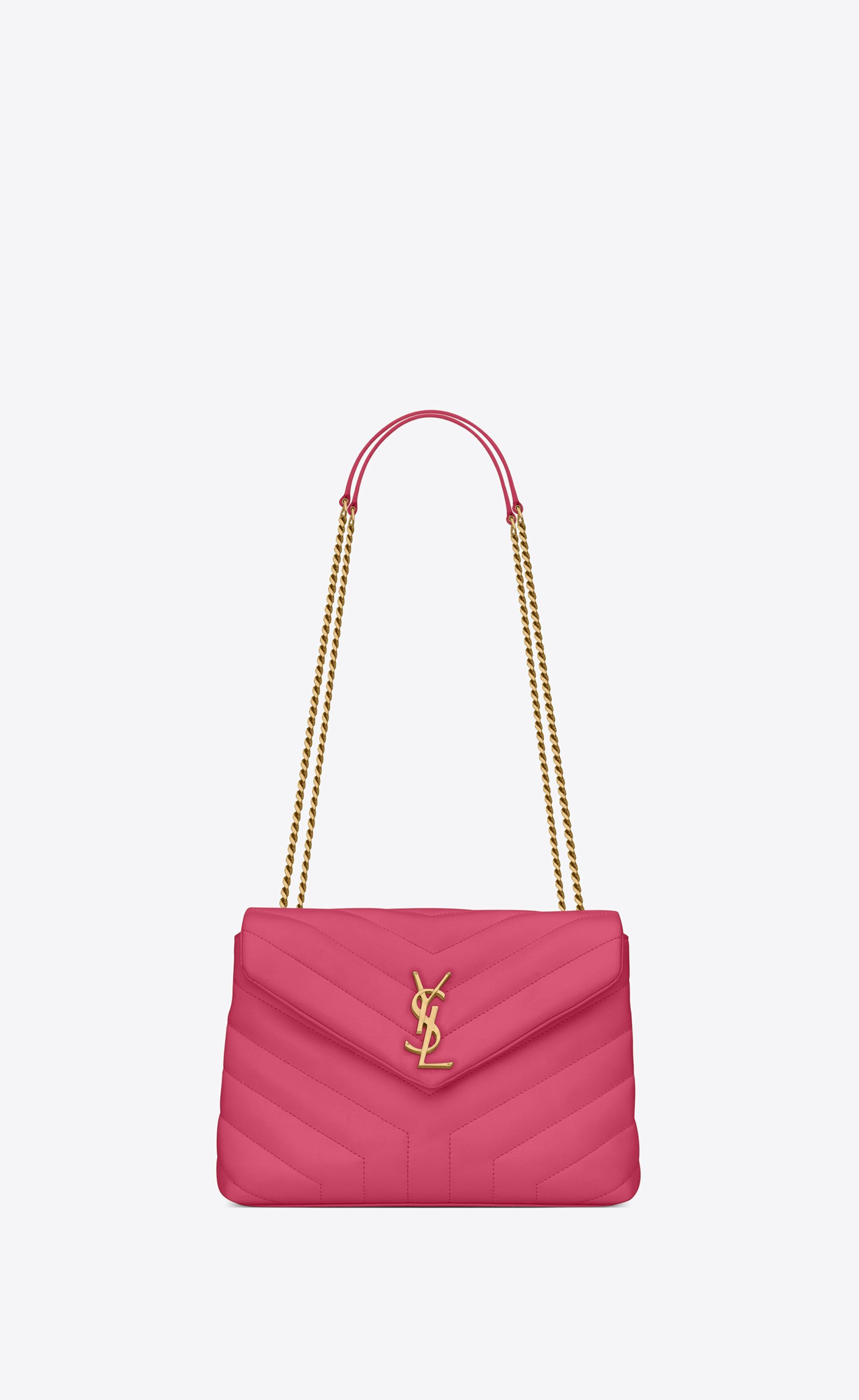 """7a6639a094 loulou small in matelassé """"Y"""" leather in 2019 