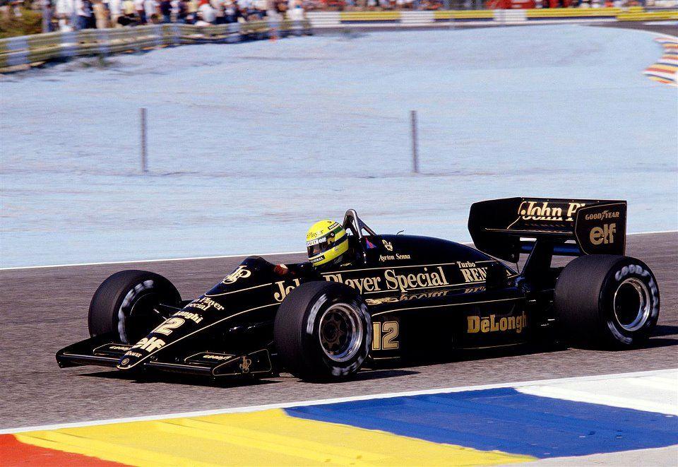 Senna 1986 Ayrton senna, Ayrton