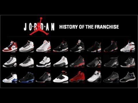every model of jordans