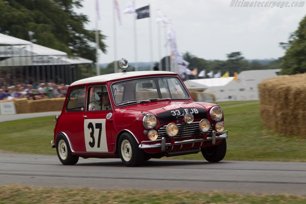Austin Mini Cooper S - Driver: Paddy Hopkirk - 2014 Goodwood Festival of Speed