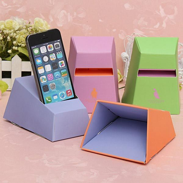 20 cool and simple diy iphone speaker ideas horn for Cool things to make out of recycled materials
