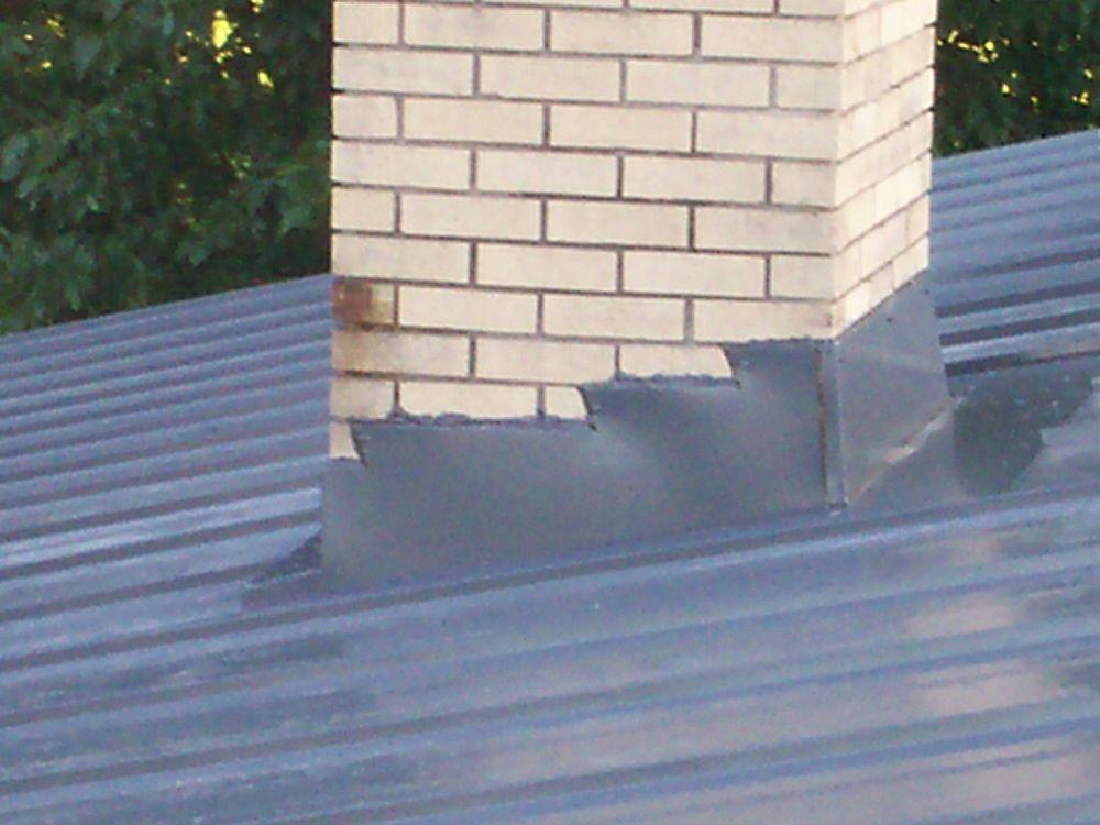 Gutter Detail Metal Roof Metal roof, Stone chimney, Roof