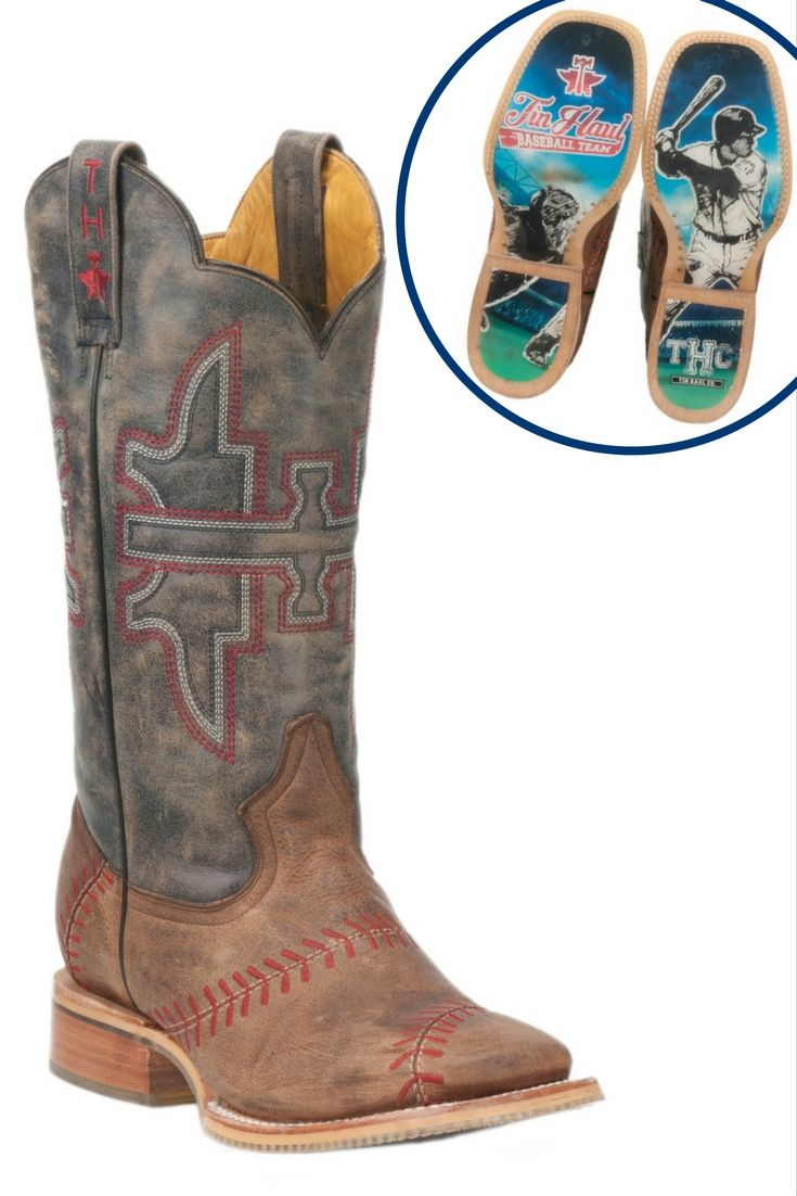 d9556f7814c IN LOVE with these baseball boots from Tin Haul! | Men's Apparel ...